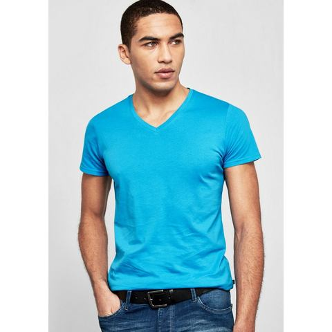 Q/s Designed By NU 15% KORTING: Q/S designed by Basic shirt met een V-hals