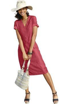 casual looks jurk in zachte, soepele kwaliteit rood
