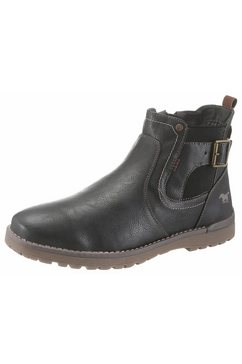 mustang shoes chelsea-boots blauw
