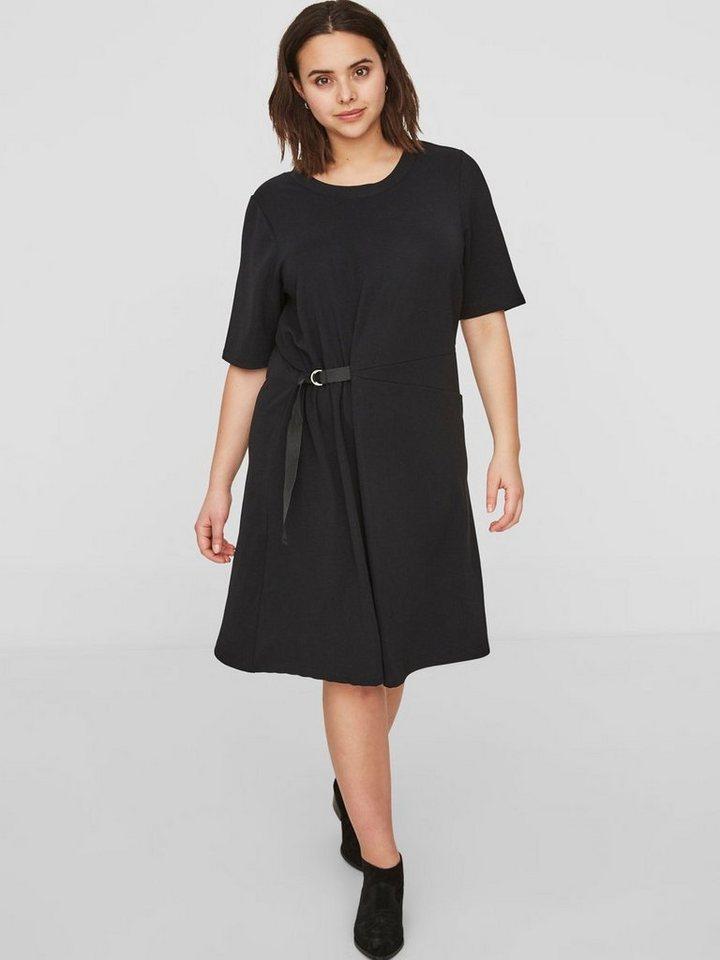 Junarose 1/2-mouw jurk zwart