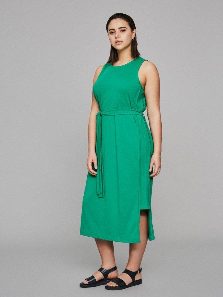 Junarose Midi jurk groen
