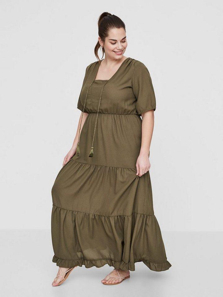 Junarose Maxi jurk groen