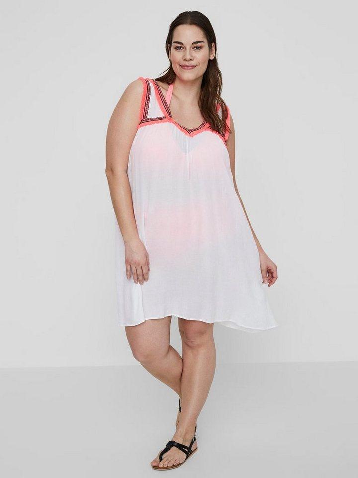 Junarose Geweven jurk wit
