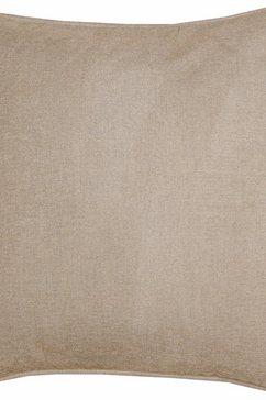 kussenovertrek, schoener wohnen kollektion, »felpilla« (per stuk) beige
