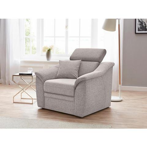 Sit & More fauteuil, met binnenvering en verstelbaar hoofddeel