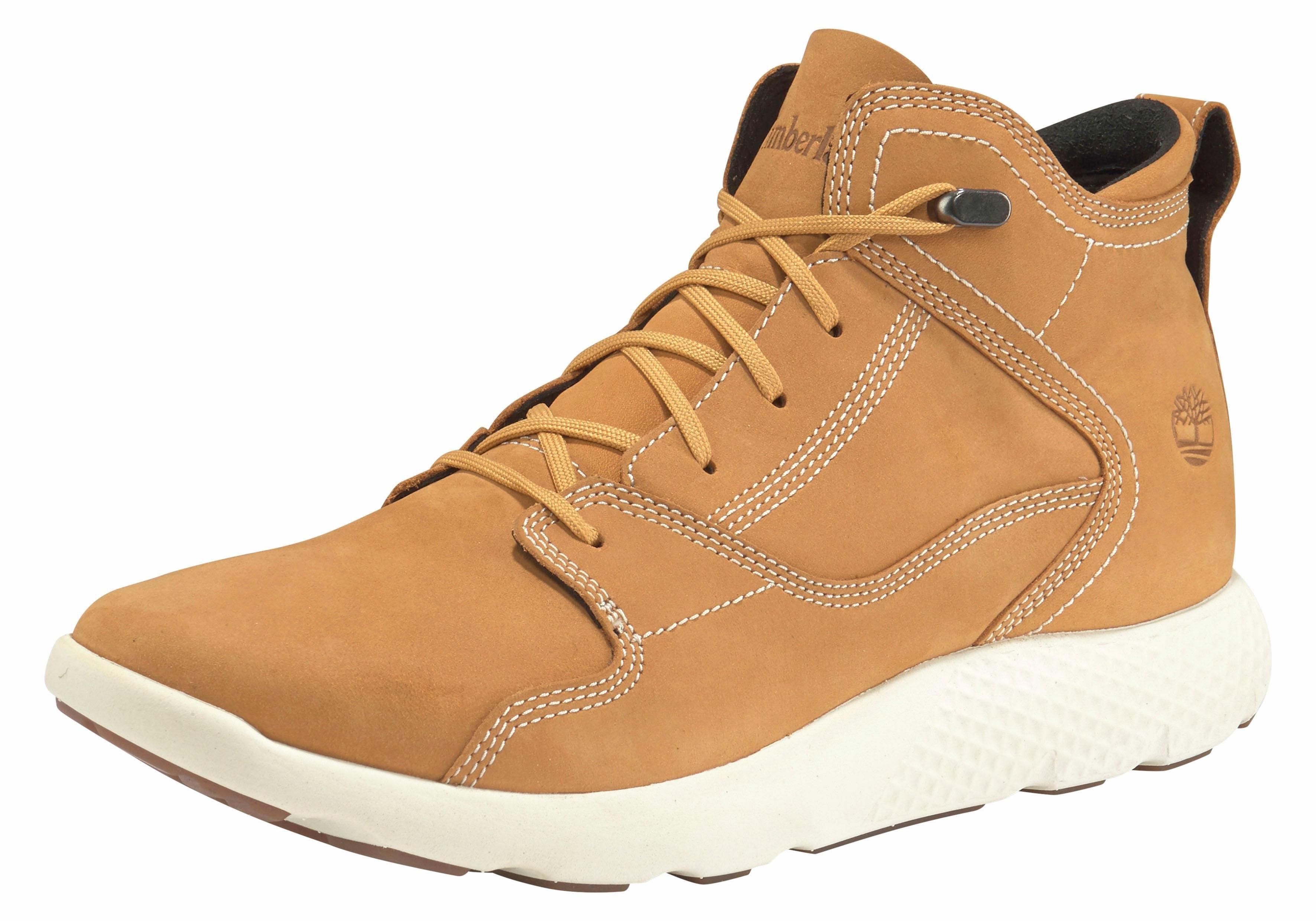 Timberland sneakers »FlyRoam Leather Hiker« nu online kopen bij OTTO