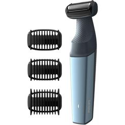 philips, scheerapparaat voor lichaam series 3000 bg3015-15, aantal opzetstukken: 3, langhaartrimmer blauw