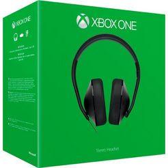 xbox one »stereo« gaming-headset (via een vaste verbinding, richtmicrofoon) zwart