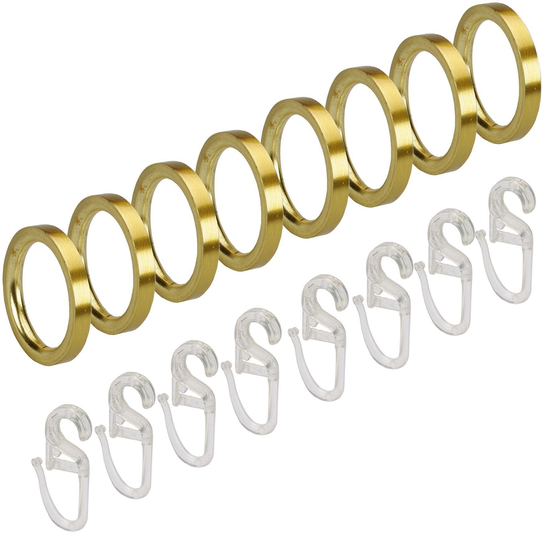 Liedeco Gordijnring voor gordijnroeden ø 16 mm (set, 8 stuks) - verschillende betaalmethodes