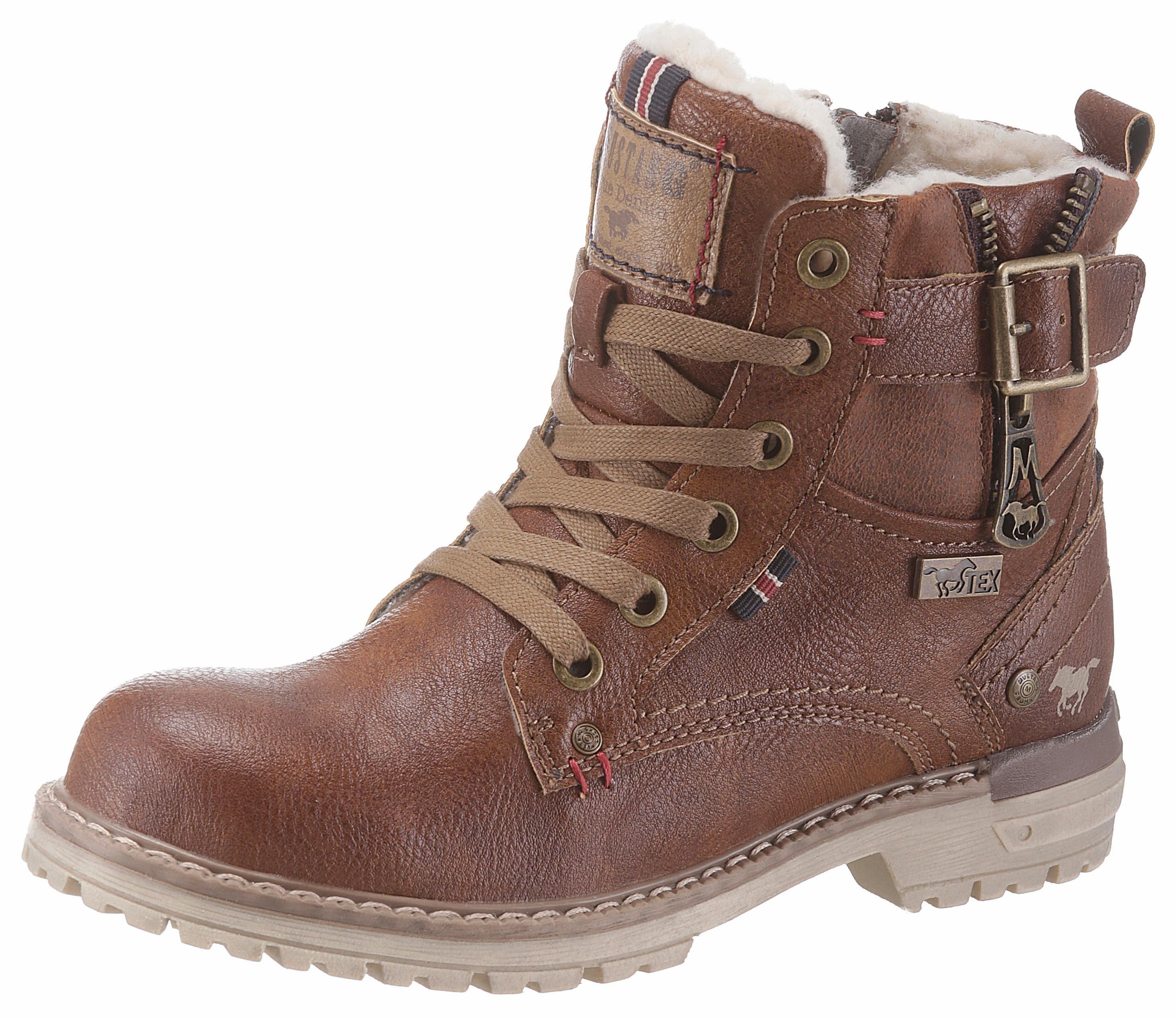Mustang Shoes hoge veterschoenen voordelig en veilig online kopen
