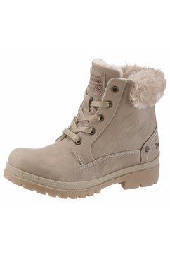 mustang shoes hoge veterschoenen bruin