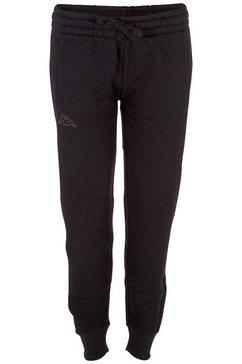 kappa joggingbroek taima in trendy tapered fit zwart