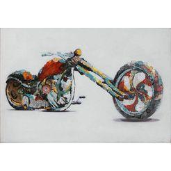 kayoom olieverfschilderij »speed« multicolor
