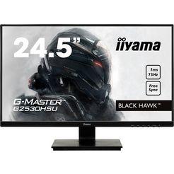 iiyama »g2530hsu-b1« gaming-ledscherm (62,2 cm - 24,5 inch, 1920x1080 pixels, full hd, 1 ms, 75 hz) zwart