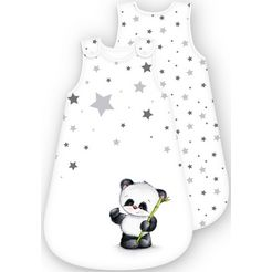 baby best babyslaapzak panda (1-delig) wit