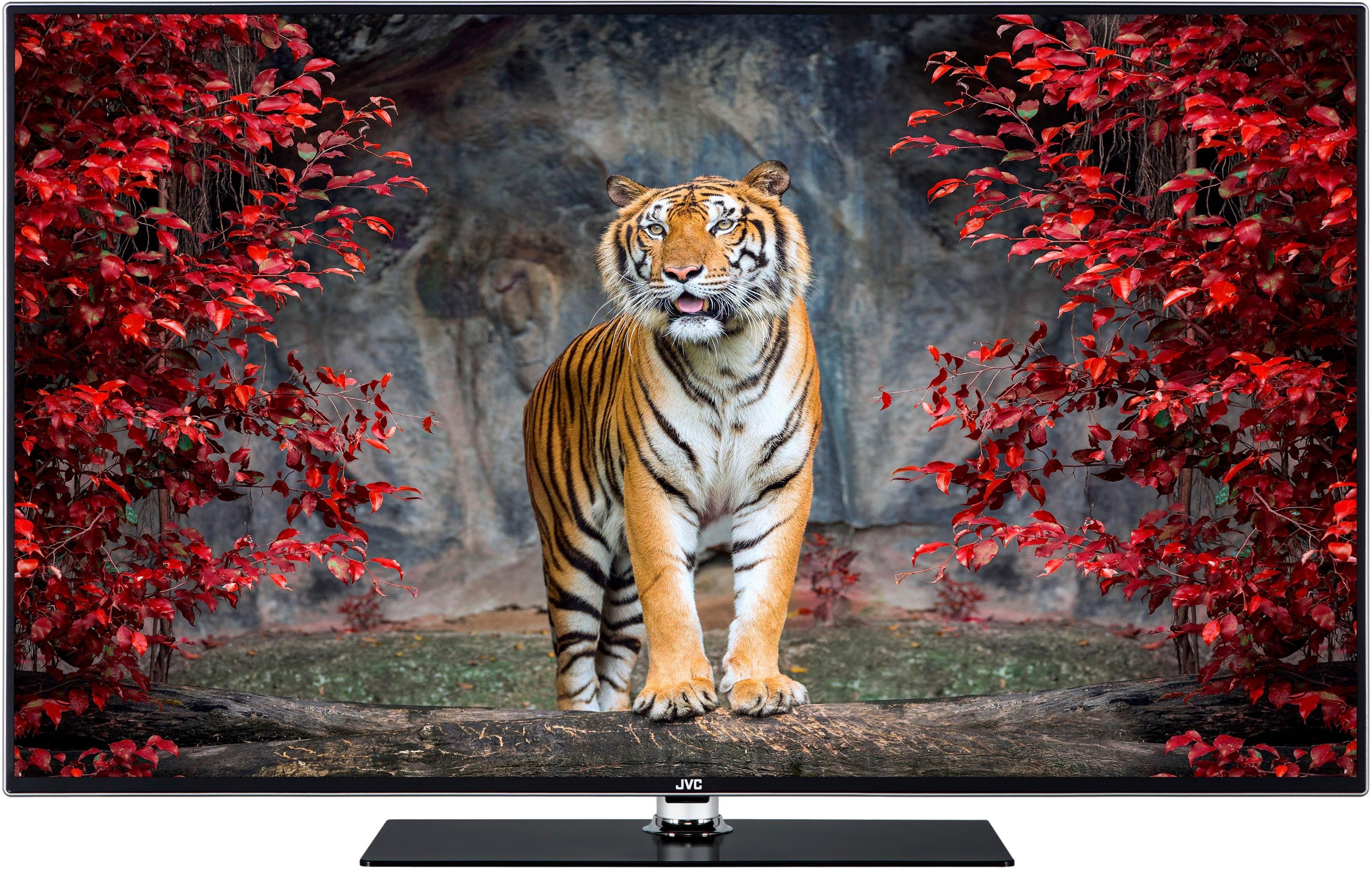JVC LT-55VU92J LED-TV (139 cm / (55 inch)), 4K Ultra HD, Smart TV - verschillende betaalmethodes