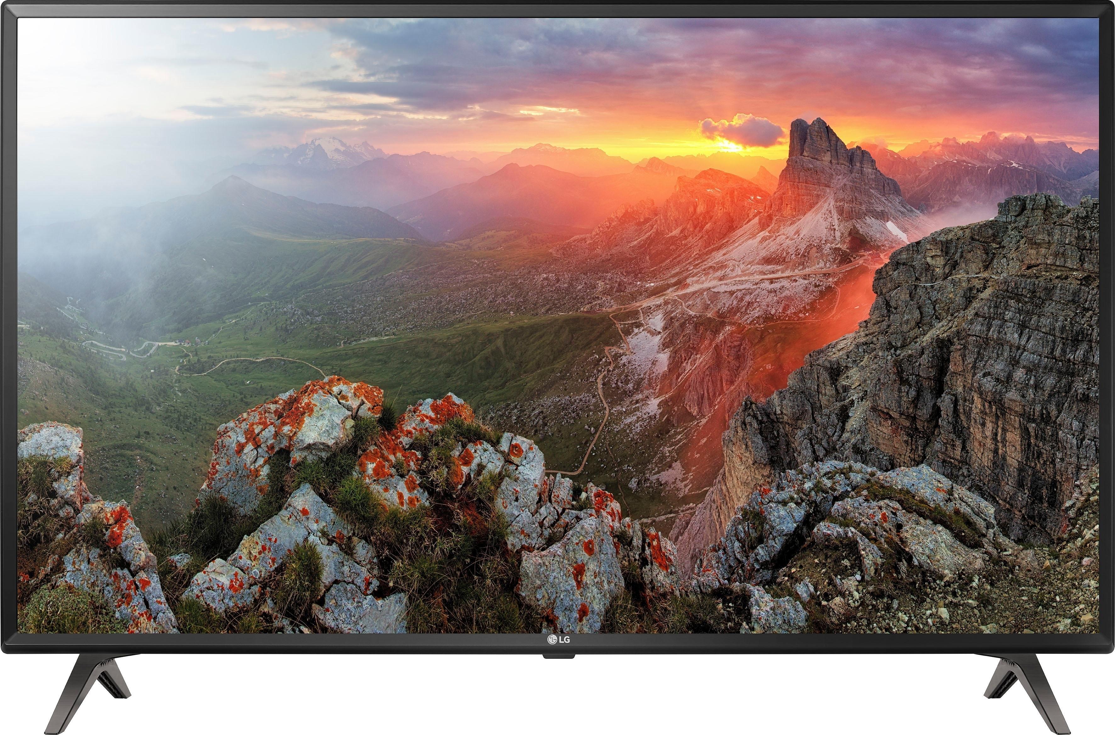 LG 50UK6300LLB led-tv (127 cm / (50 inch), 4K Ultra HD, smart-tv voordelig en veilig online kopen
