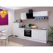 keukenblok met elektrische apparaten »lucca«, totale breedte 270 cm wit