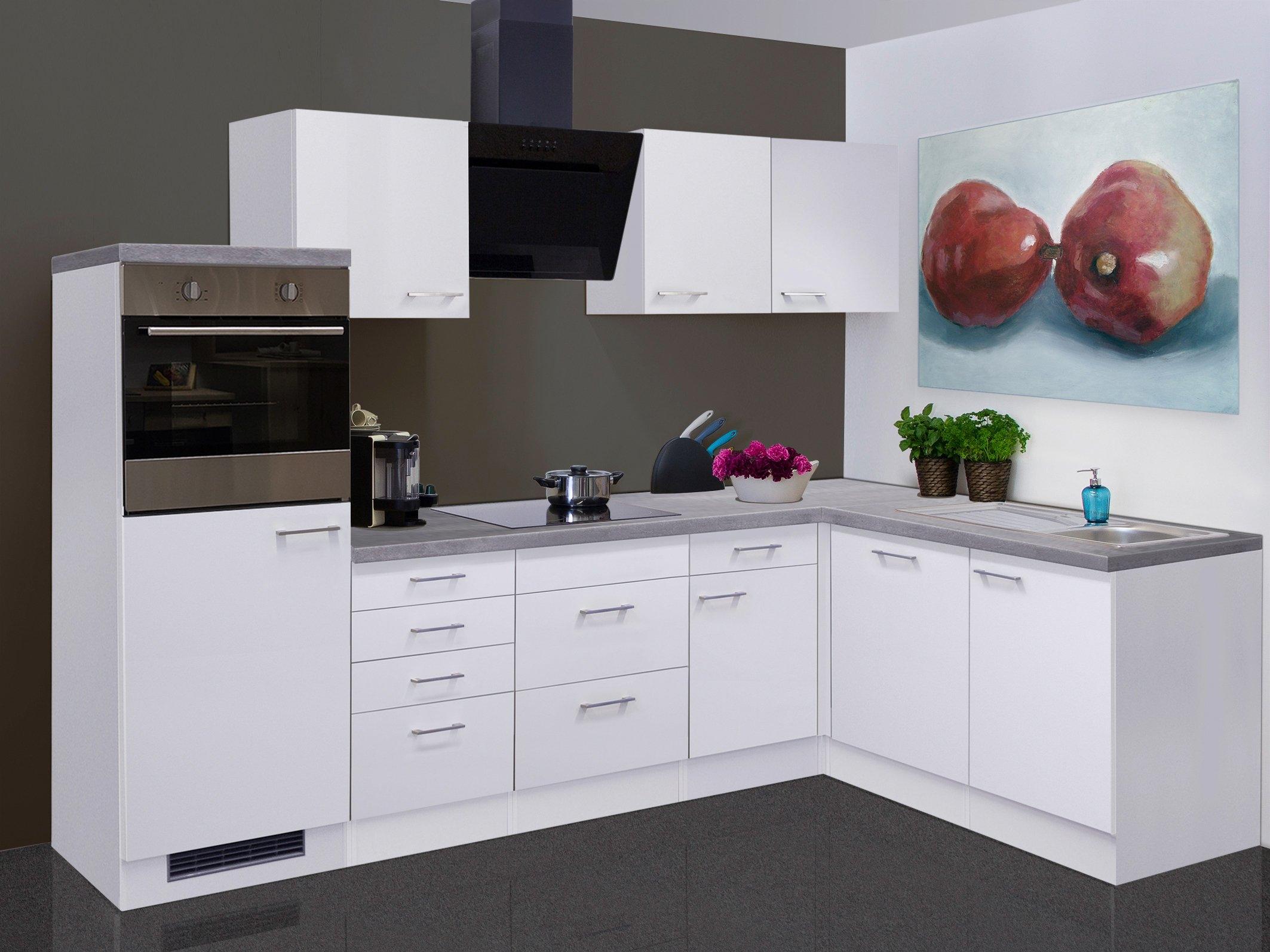 Flex-well Keukenblok met elektrische apparaten »Kopenhagen«, breedte 280x170 cm voordelig en veilig online kopen