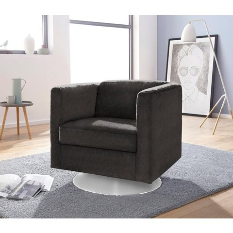 INOSIGN fauteuil Bob draaibaar met plateauvoet
