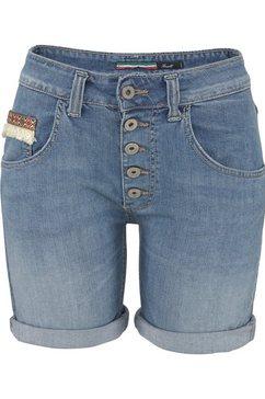 please jeans jeansshort »p88a« blauw