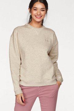 pepe jeans sweatshirt »crew neck« beige