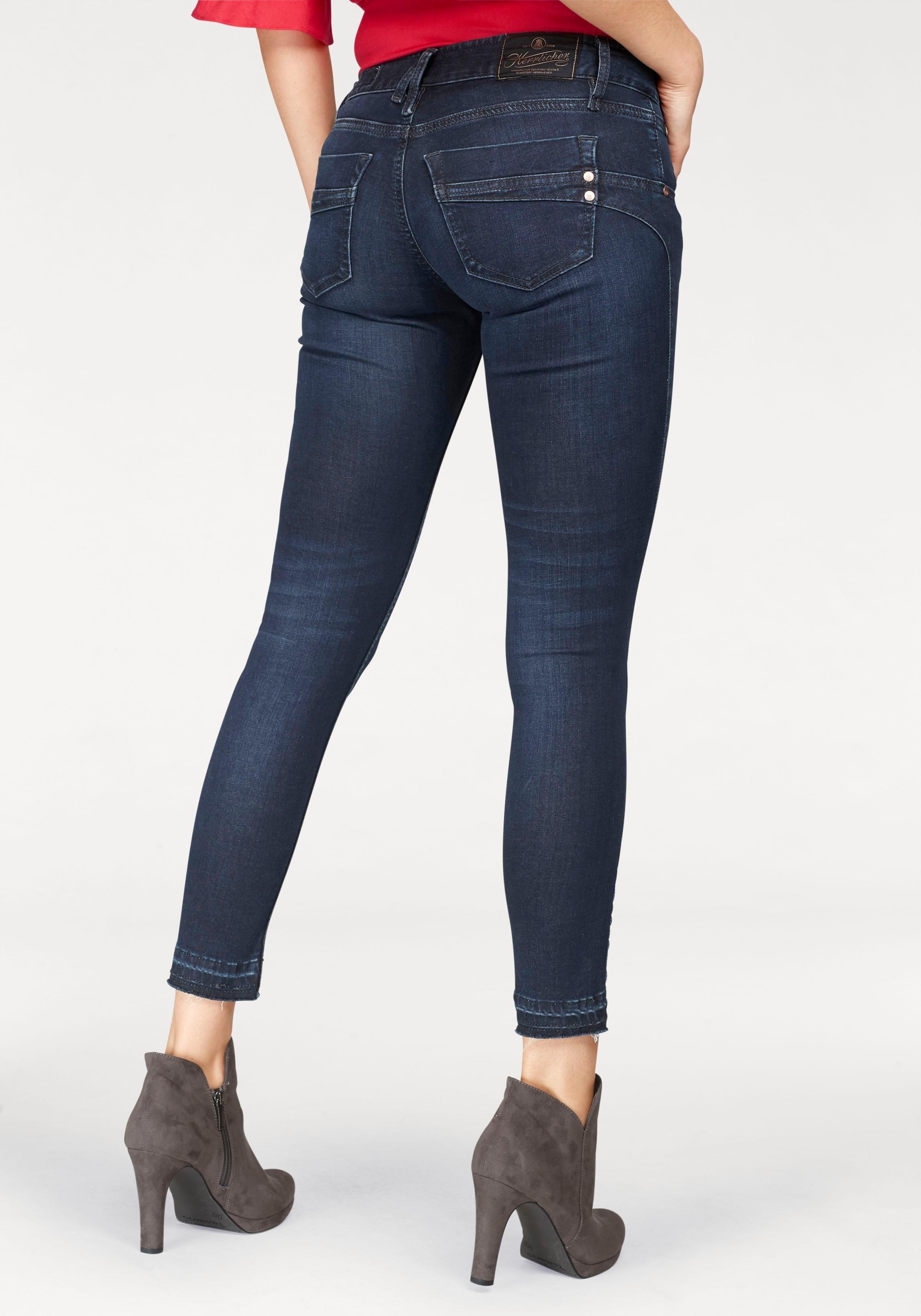 Herrlicher slim fit jeans »TOUCH CROPPED« veilig op otto.nl kopen