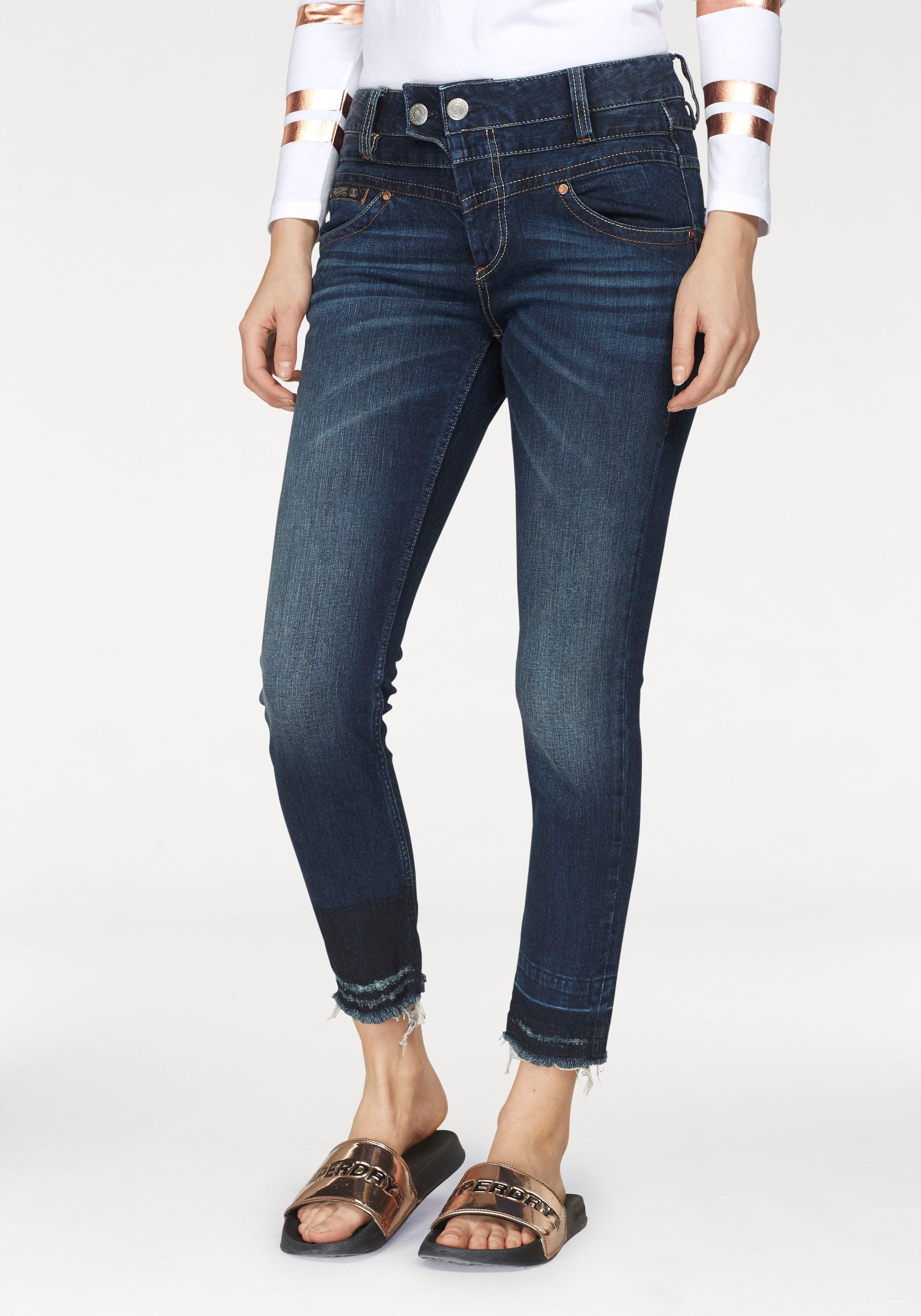 Herrlicher slim fit jeans »BIJOU CROPPED« nu online bestellen