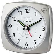 atrium kwarts-wekker a251-19 zilver