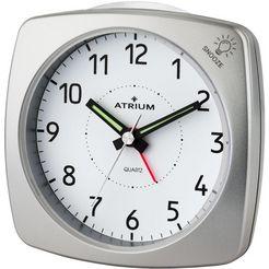 atrium wekker »a251-19« zilver