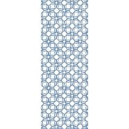 »patroon blue«, 90 x 250 cm, zelfklevend blauw