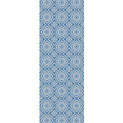 queence vinylbehang blauw
