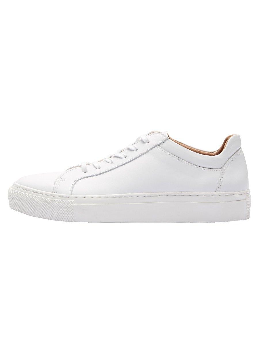 Selected Femme Leren - Sneakers bestellen: 14 dagen bedenktijd