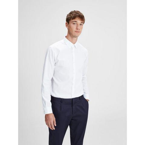 NU 15% KORTING: Jack & Jones Strijkvrij Overhemd met lange mouwen