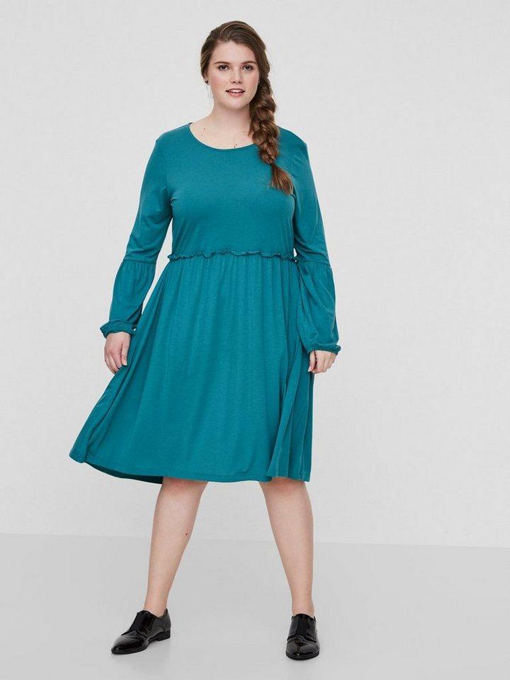 Junarose Lange mouw jurk groen
