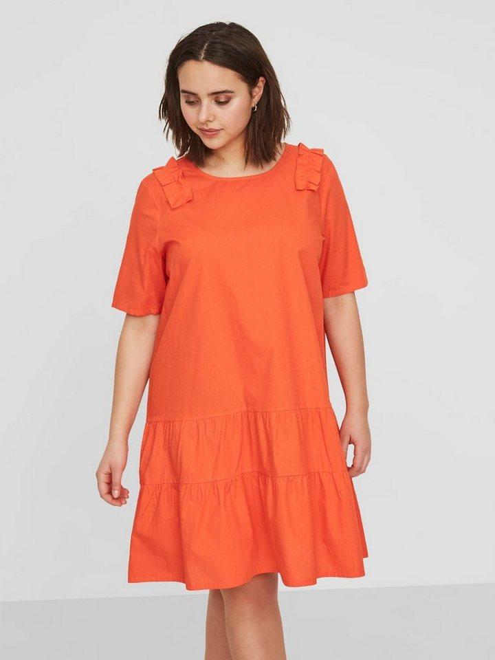 Junarose Vrouwelijke geweven jurk rood