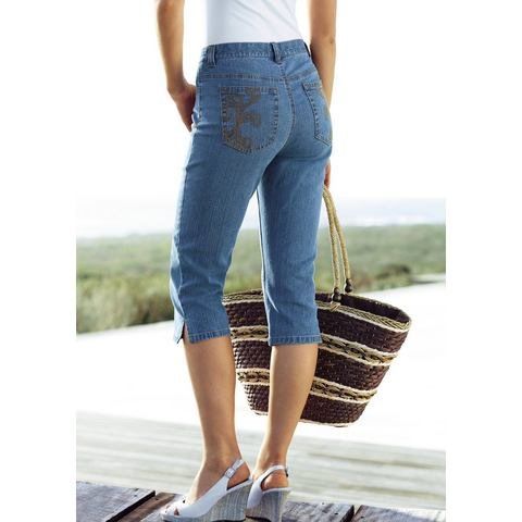 CHEER Skinny-jeans in 3-4-lengte