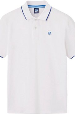 north sails poloshirt wit