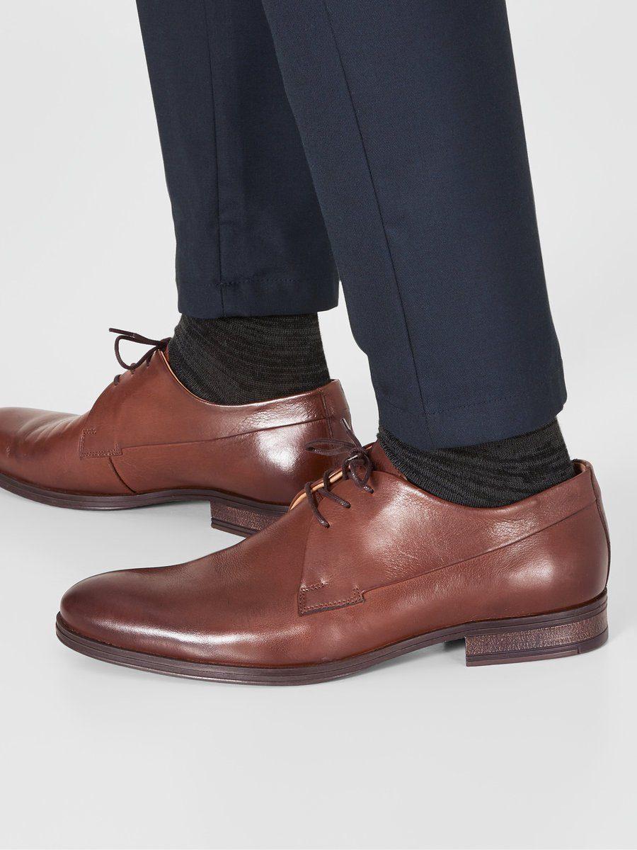 Chaussures En Cuir Marron Hommes Jack & Jones FrmCm