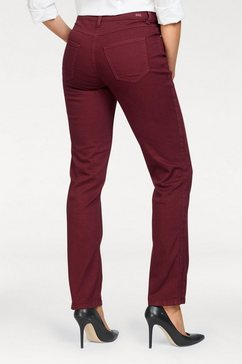mac stretch jeans »melanie divided« rood