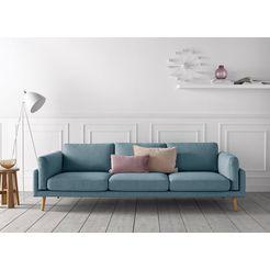 andas 3-zitsbank »malvik«, design by anders noergaard blauw