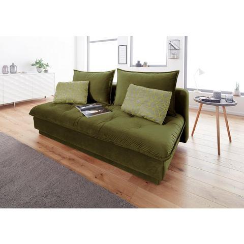 INOSIGN bedbank Palladio, volwaardig bed door boxspringopbouw, incl. bedkist + topmatras