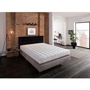 sonnco comfortschuimmatras lucas met verkoelende zomerkant en behaaglijk zachte winterkant hoogte 20 cm wit