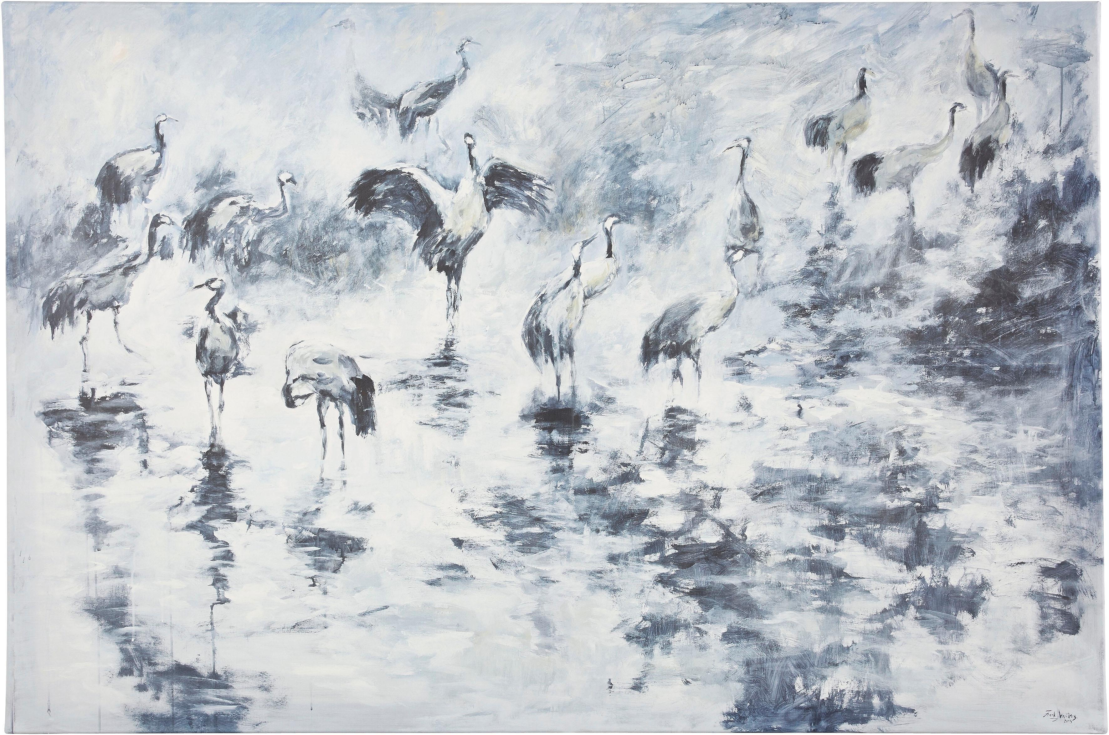 Guido Maria Kretschmer Home&Living wanddecoratie Kraanvogels door frank mutters bij OTTO online kopen