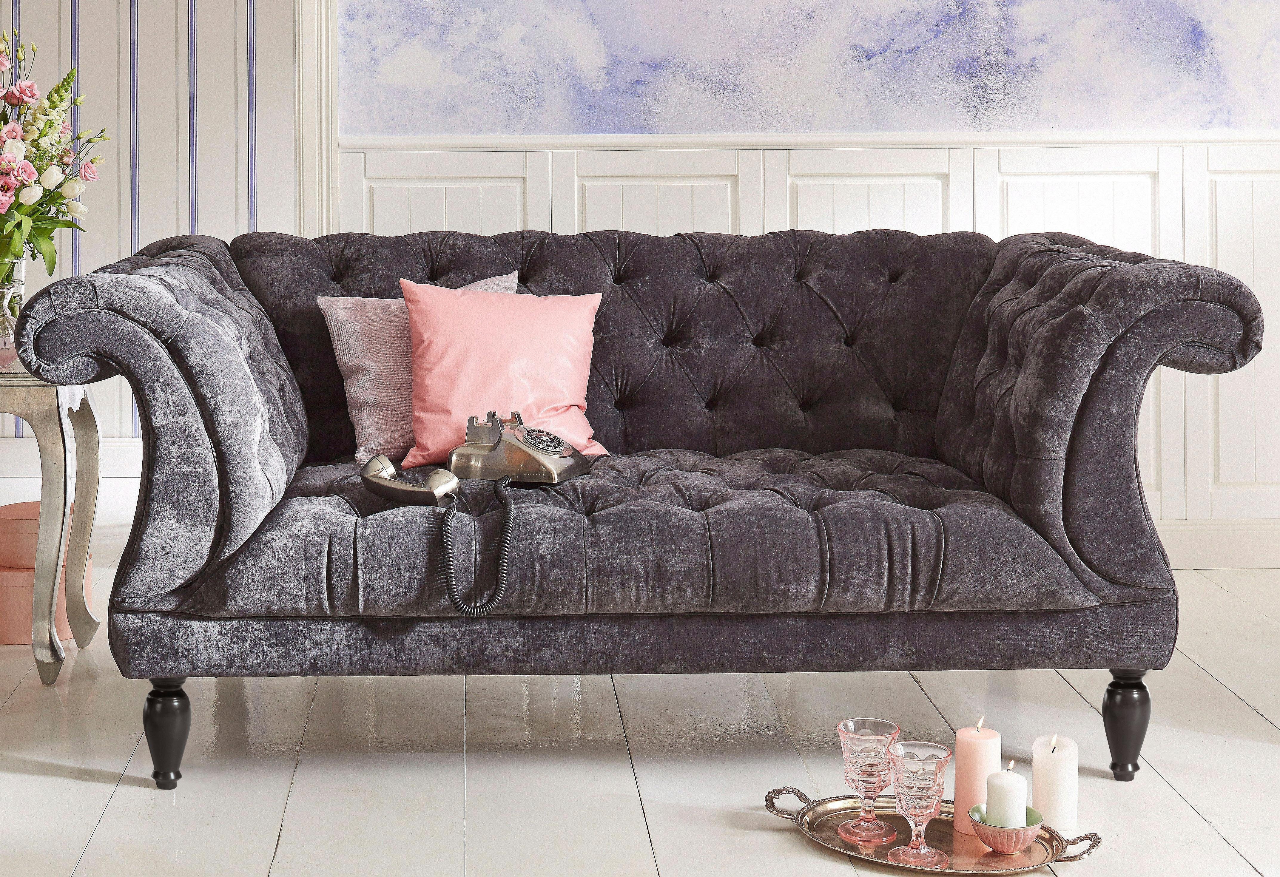 Max Winzer HOME AFFAIRE 2-zitsbank in chesterfield-stijl nu online kopen bij OTTO