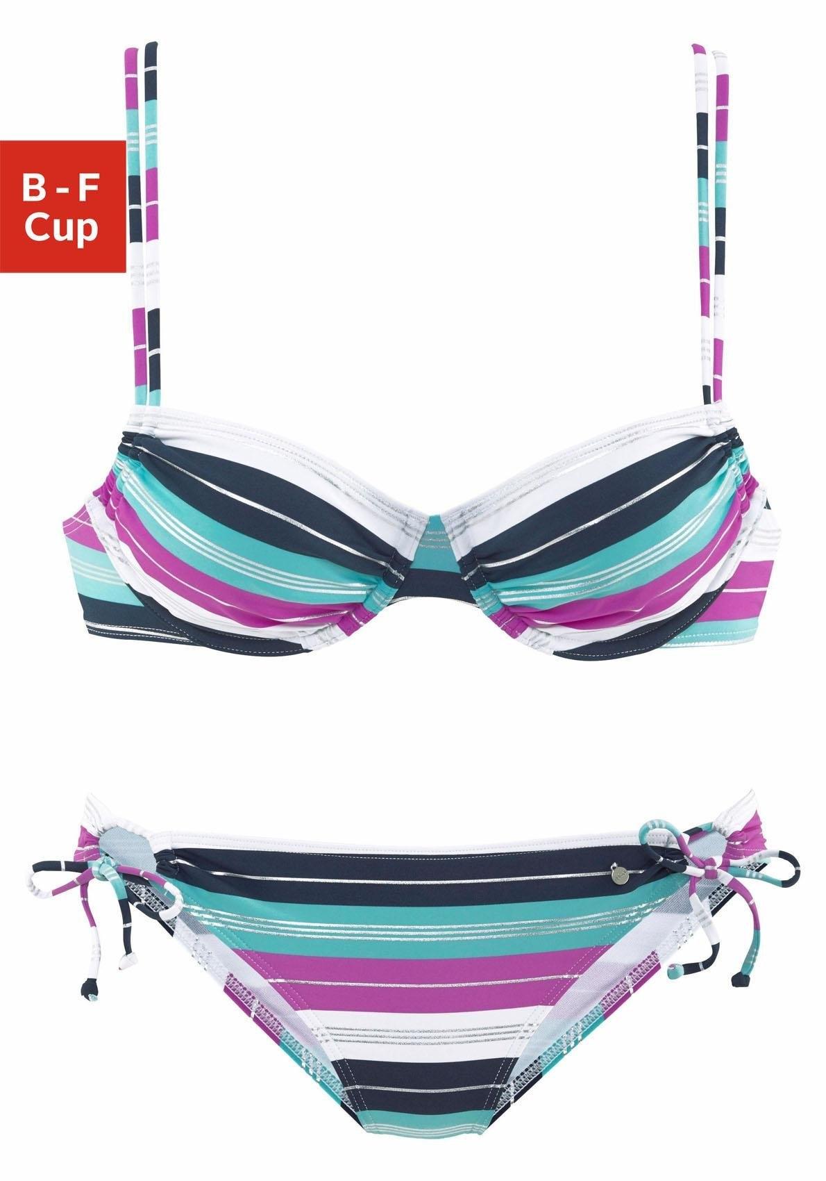 s.Oliver RED LABEL Beachwear beugelbikini (2-delig) bij OTTO online kopen