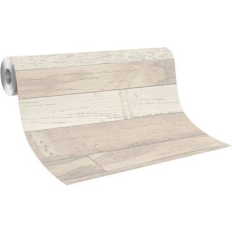 Behang, Rasch, Sightseeing Holz