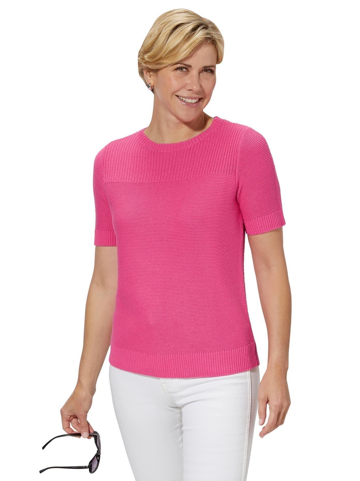 Casual Looks trui met korte mouwen Trui nu online bestellen