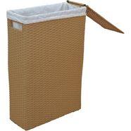 home affaire wasmand met stofinzet beige