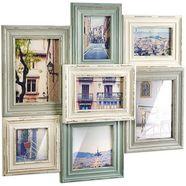locker galerielijst collage vintage voor 7 foto's multicolor